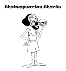 Shakespearian Shorts - Artwork from Fred Ahern